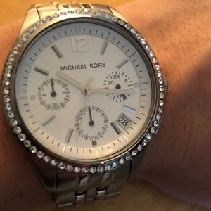 Michael Kors Watch in Silver
